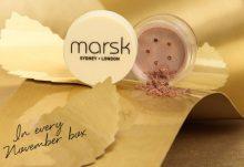 GLOSSYBOX November Box Spoiler - Marsk Eyeshadow