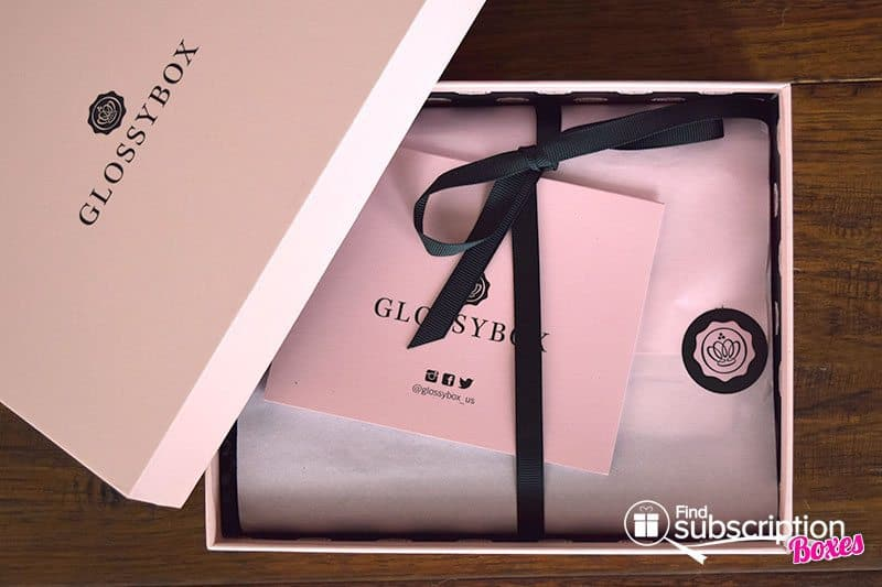 GLOSSYBOX Review - November 2015 Box