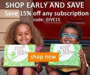 Green Kid Crafts 15% Off