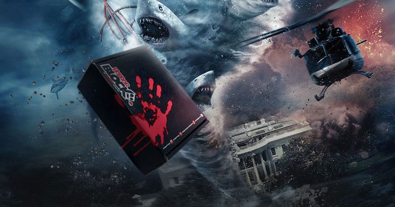 Horror Block November 2015 Box Spoiler - Sharknado