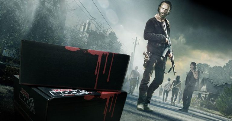 Horror Block November 2015 Box Spoiler - The Walking Dead
