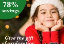 Junior Explorers Black Friday Sale