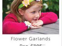 Kiwi Crate Flower Garlands