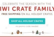 Kiwi Crate Free Shipping Holiday Crates