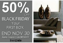 Linen Crate Black Friday