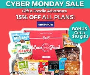 Love With Food Cyber Monday Sale - 15% Off
