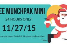 MunchPak Black Friday