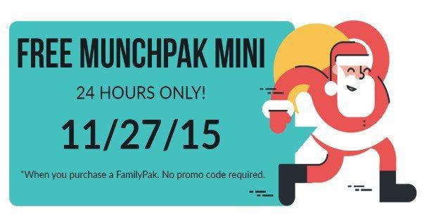 MunchPak Black Friday