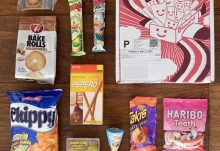 MunchPak Review - October 2015 Box Contents