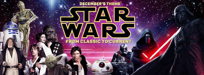 Nerd Block December 2015 Box Theme - Star Wars: From Past to Present