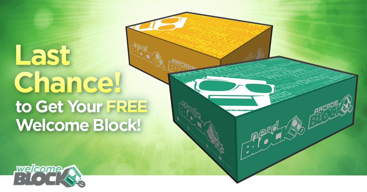 Nerd Block Free Block
