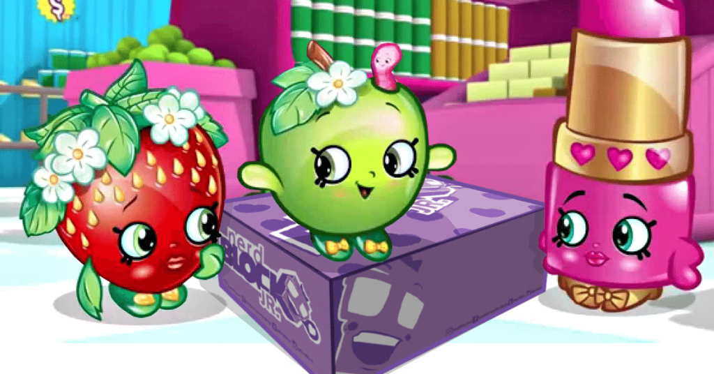 Nerd Block Jr. November 2015 Box Spoiler - Shopkins
