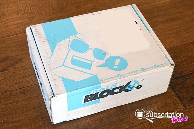 Nerd Block Review - November tis' the Season Classic Block Box