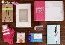 POPSUGAR Must Have Box Review - October 2015 Box Contents