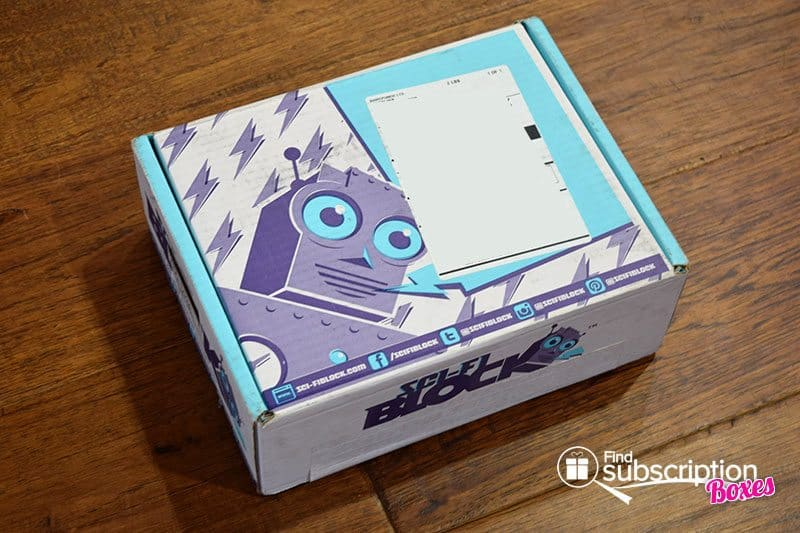 Sci-Fi Block Review - November 2015 Box