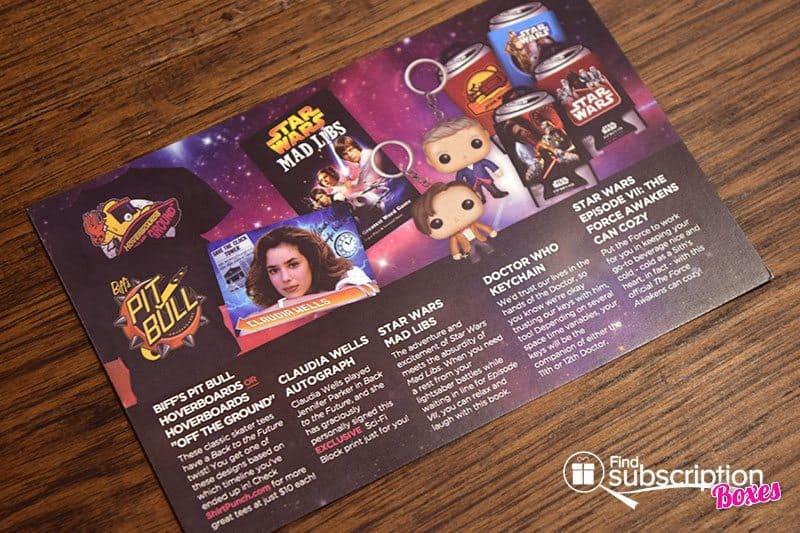 Sci-Fi Block Review - November 2015 Product Card