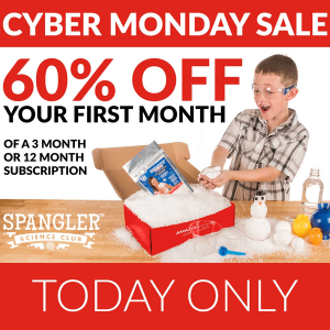 Spangler Science Club  Cyber Monday Sale - 60% Off