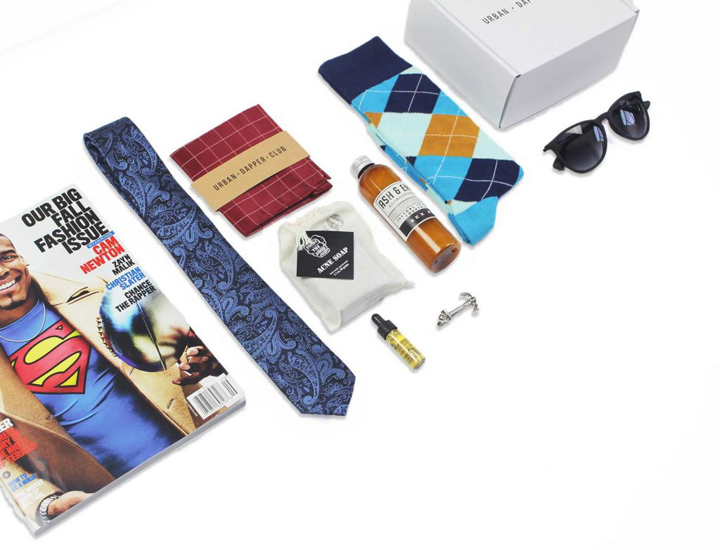 Urban Dapper Club Monthly Subscription Box for Men