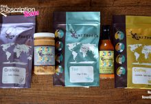War Foodie Review November 2015 Box Contents