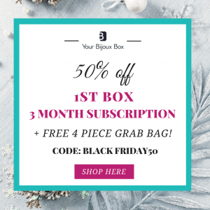 Your Bijoux Box Black Friday Sale - 50% Off