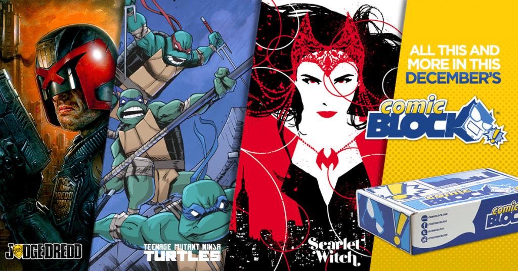 Comic Block December 2015 Spoilers
