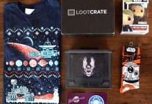 December 2015 Loot Crate Review - Galaxy Crate Box Contents