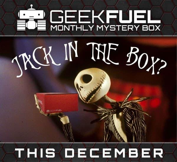Geek Fuel December 2015 Spoiler - Nightmare Before Christmas