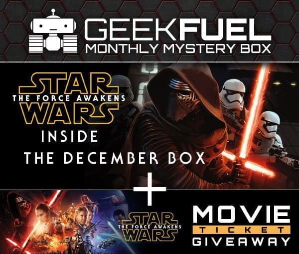 Geek Fuel December 2015 Box Spoiler - Star Wars