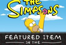 Geek Fuel December 2015 Box Spoiler - The Simpsons