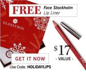 December Free Gift GLOSSYBOX Promo Code