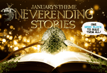 Nerd Block January 2015 Theme Reveal - Neverending Stories