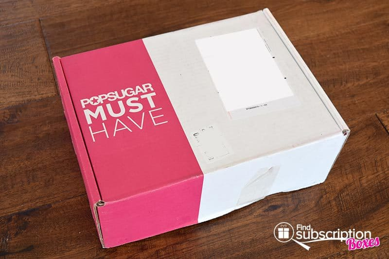 November 2015 POPSUGAR Must Have Box Review - Box
