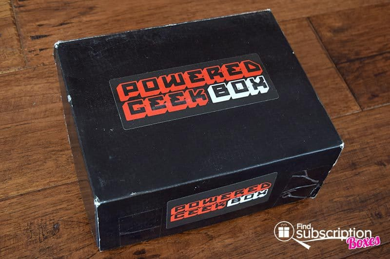 Powered Geek Box Review - November 2015 Box