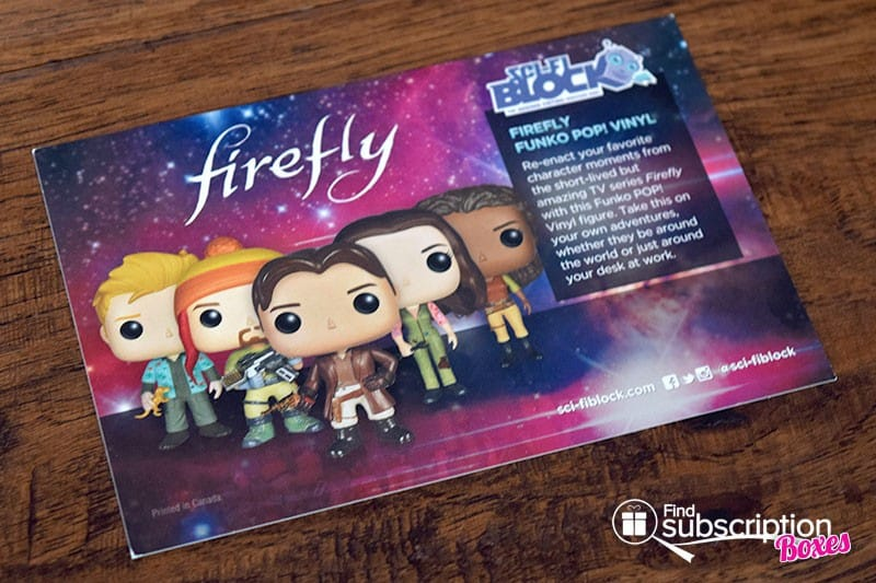Sci-Fi Block Review December 2015 - Product Card