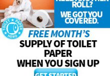 Toilet Paper Hero Free Box Offer