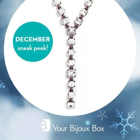 Your Bijoux Box December 2015 Box Spoiler - Crystal Lariat