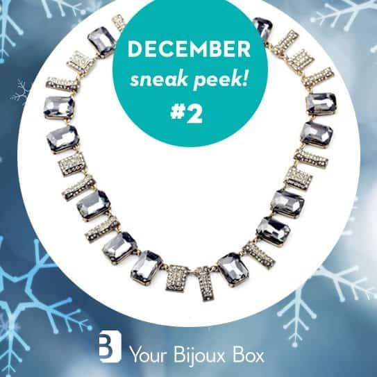 Your Bijoux Box December 2015 Box Spoiler - Statement Necklace