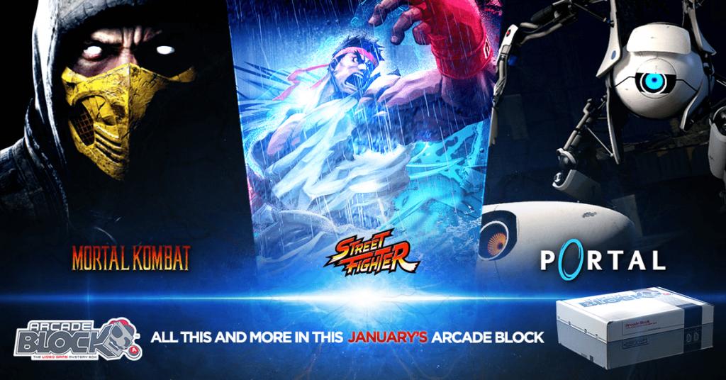 Arcade Block January 2016 Box Spoilers