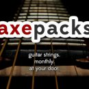 Axe Packs - Guitar Strings Subscription Service
