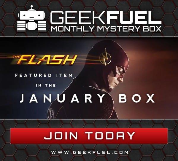 Geek Fuel January 2016 Box Spoiler - The Flash