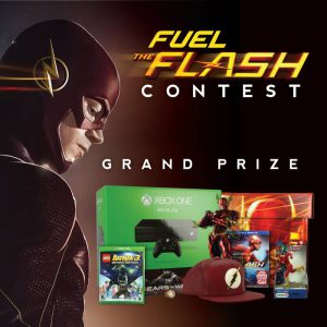 Geek Fuel January 2016 Fuel The Flash Contest