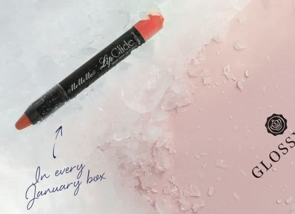 GLOSSYBOX January 2016 Box Spoiler MeMeMe Cosmetics Lip Glide