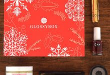 GLOSSYBOX Review - December 2015 Box Contents