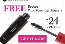 January 2016 GLOSSYBOX Free Gift Coupon - Doucce Punk Volumizer Mascara
