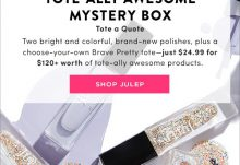 Julep Maven Tote-Ally Awesome Mystery Box