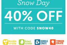 Kiwi Crate Snow Day Coupon