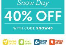 Kiwi Crate Snow Day Coupon
