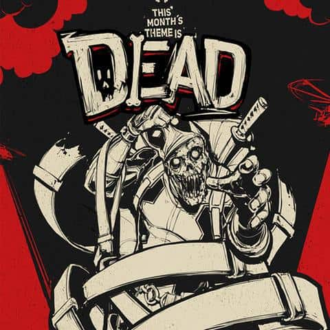 Loot Crate February 2016 Theme Reveal - DEAD