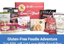 Love With Food 50% Off Gluten Free Box