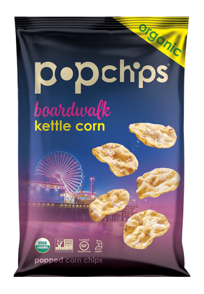 Love With Food February 2016 Box Spoiler - PopChips in Boardwalk Kettle Corn